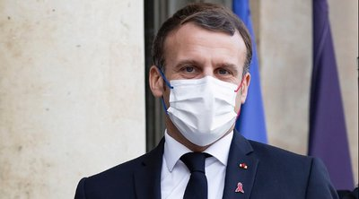 Μακρόν: Η Γαλλία έχει κάνει 20 εκατομμύρια εμβολιασμούς κατά της Covid-19 με την πρώτη δόση