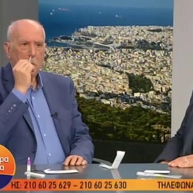 Ο Γ. Παπαδάκης έκανε «on air» το self test - ΒΙΝΤΕΟ