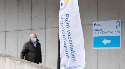 Πάνω από το ένα πέμπτο των Βέλγων έχει λάβει τουλάχιστον την πρώτη δόση εμβολίου