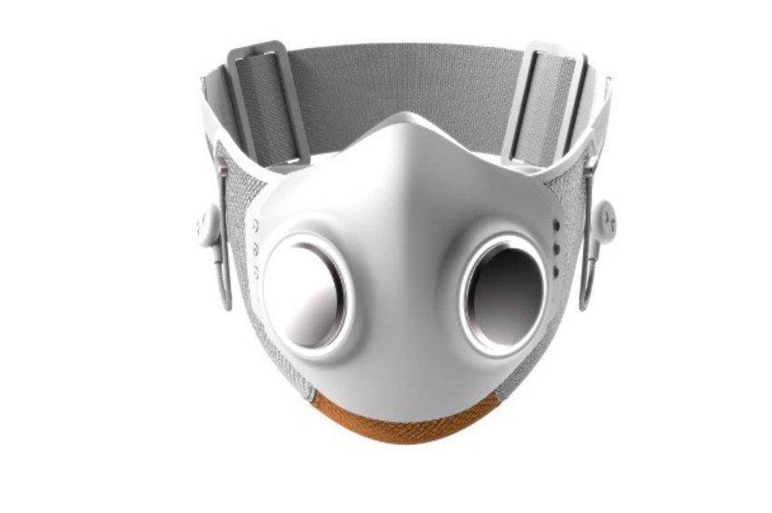 Κορωνοϊός - Η πρώτη «smart» μάσκα: Ακούς μουσική, δέχεται κλήσεις, έχει Bluetooth και φωτάκι LED - ΒΙΝΤΕΟ