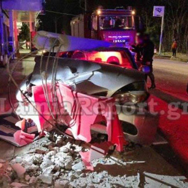 Τραγωδία στη Λαμία: Νεαρή μητέρα «έσβησε» στο τιμόνι με τα παιδιά της στο αυτοκίνητο