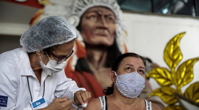 Βραζιλία-κορωνοϊός: Ξεπέρασαν τους 350.000 οι θάνατοι