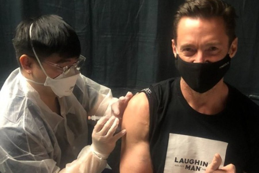 Aκόμη και ο Wolverine χρειάζεται εμβόλιο κατά της Covid-19