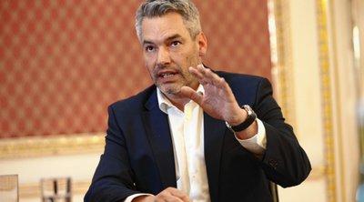 Δεν υπάρχει εναλλακτική στη συνεργασία της ΕΕ με τον Ερντογάν για το προσφυγικό, επισημαίνει ο Αυστριακός ΥΠΕΣ Καρλ Νέχαμερ