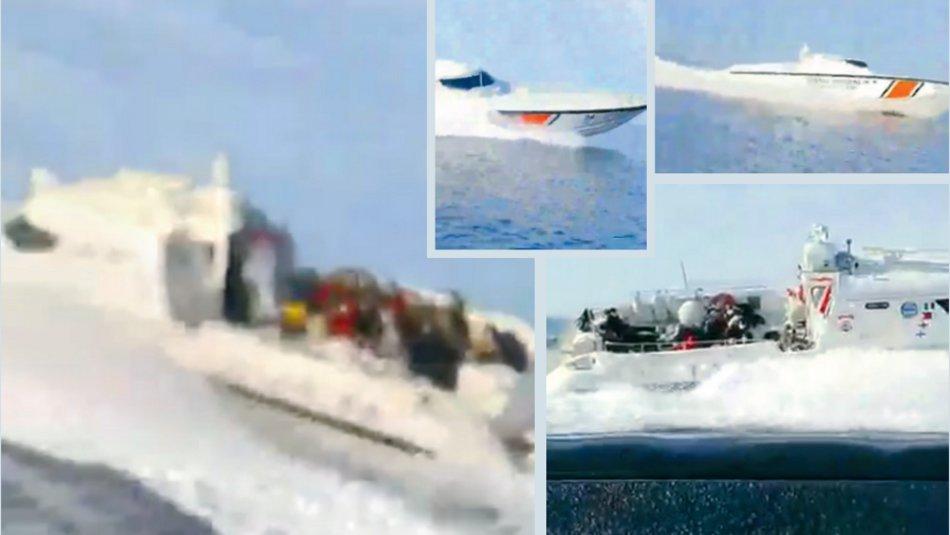 Διακίνηση μεταναστών με σκάφος της τουρκικής ακτοφυλακής