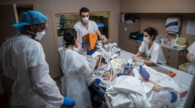 Γαλλία: Το 85% των νοσηλευομένων για Covid-19 είναι ανεμβολίαστοι