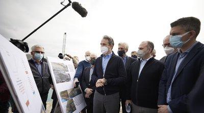 Μητσοτάκης: Τα έργα στη Διώρυγα της Κορίνθου έναυσμα για τη συνολικότερη αναβάθμιση της ευρύτερης περιοχής
