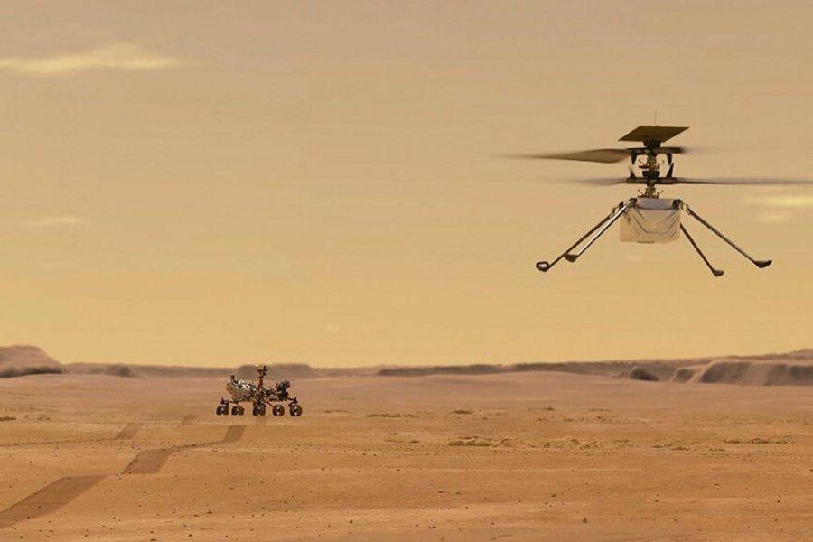 Η πρώτη πτήση στον πλανήτη Άρη με ρομποτικό ελικόπτερο! - Πανηγυρίζουν στη NASA - ΒΙΝΤΕΟ
