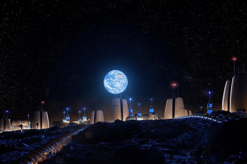 Ετσι θα μοιάζει το πρώτο ανθρώπινο «χωριό» στη Σελήνη