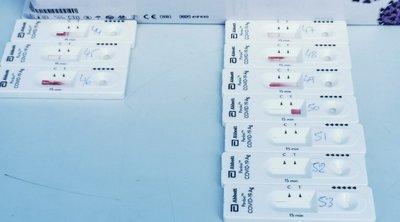 Έλεγχοι rapid test στη δομή Ρομά στα Σπάτα από κλιμάκια της Περιφέρειας Αττικής και του Ι.Σ.Α.