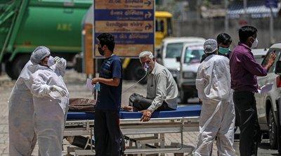 Ινδία-κορωνοϊός: 1.321 θάνατοι, περισσότερα από 54.000 κρούσματα σε 24 ώρες