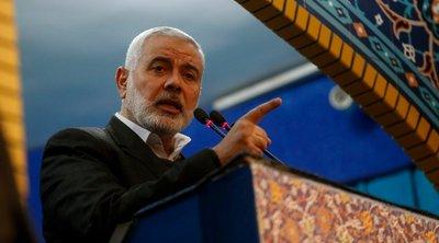 Παλαιστίνη: Ο Ισμαήλ Χανίγιε επανεξελέγη στην ηγεσία της Χαμάς