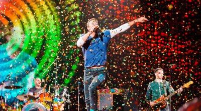 Το νέο single των Coldplay έκανε ντεμπούτο στο διάστημα!
