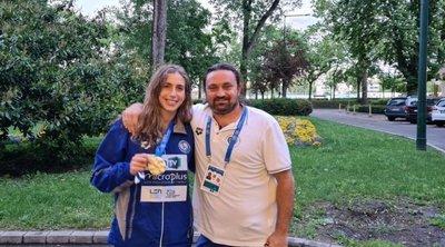Άννα Ντουντουνάκη στον Real fm 97,8 για το χρυσό μετάλλιο στη Βουδαπέστη: «Δεν έχω  συνειδητοποιήσει ακόμη τι έχω κάνει!»