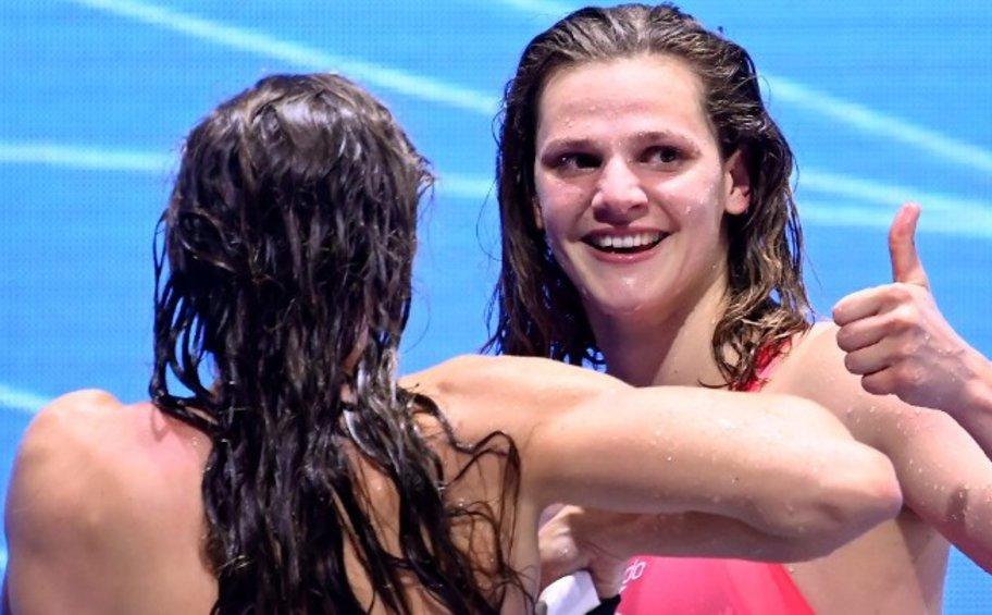 «Χρυσή» η Ντουντουνάκη στα 100μ. πεταλούδα του Ευρωπαϊκού Πρωταθλήματος Κολύμβησης