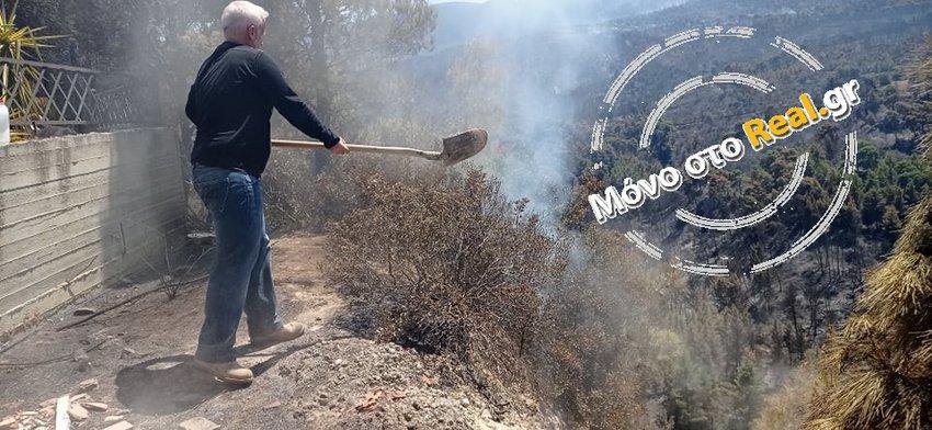 Αυτοψία του Real.gr στο Αλεποχώρι - Συγκλονιστικές φωτογραφίες και βίντεο