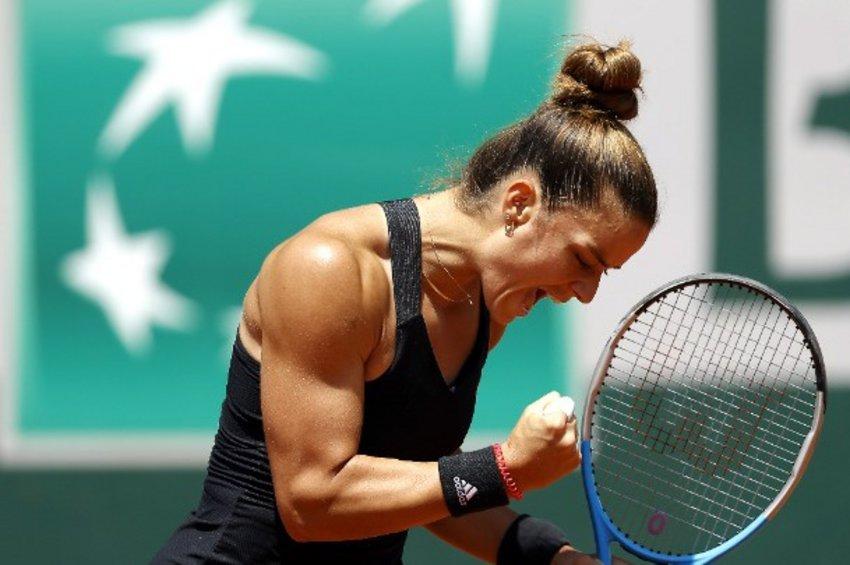 Γράφει ιστορία η Σάκκαρη: Προκρίθηκε στα ημιτελικά του Roland Garros - Τα highlights του θριάμβου