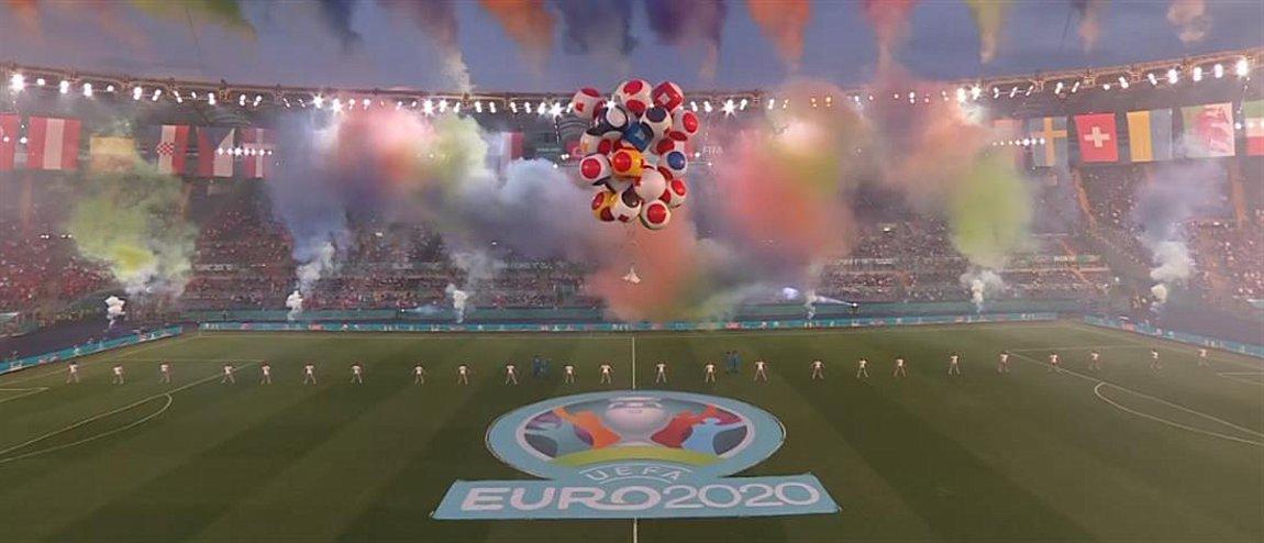 Euro 2020: Η φαντασμαγορική τελετή έναρξης στο Ολίμπικο - ΒΙΝΤΕΟ   ενότητες, αθλητισμός   Real.gr