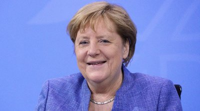 Ευχές μέσω... τηλεδιάσκεψης από τη Μέρκελ στην εθνική Γερμανίας