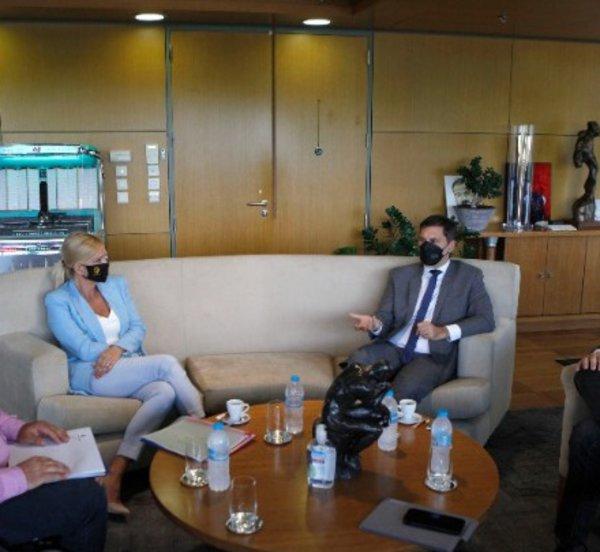 «Σημαντικός ο τουρισμός για την πόλη» είπε ο Χ. Θεοχάρης μετά τη συνάντηση με τον δήμαρχο Θεσσαλονίκης Κ. Ζέρβα