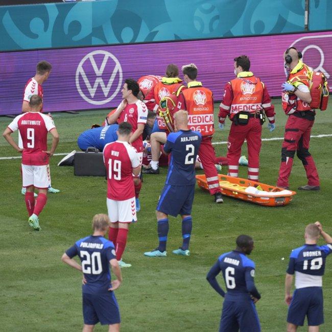 Σοκ στο EURO: Κατέρρευσε στο γήπεδο ο Ερικσεν της Εθνικής Δανίας - Νοσηλεύεται σε σταθερή κατάσταση - ΦΩΤΟ - ΒΙΝΤΕΟ