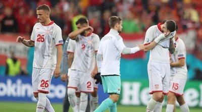 EURO: Η κρατική τηλεόραση της Βόρειας Μακεδονίας αποκαλεί την εθνική ποδοσφαίρου «Μακεδονία»