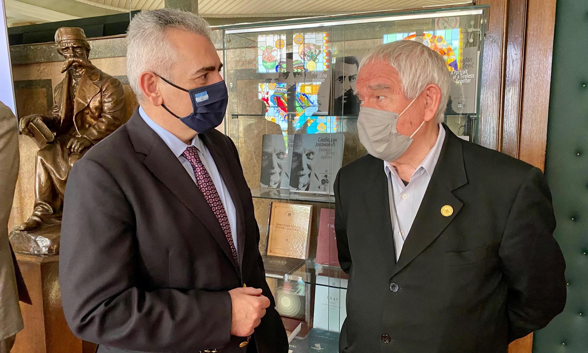 Επίσκεψη στο Ινστιτούτο Βυζαντινών Ερευνών της Ακαδημίας Επιστημών και Τεχνών