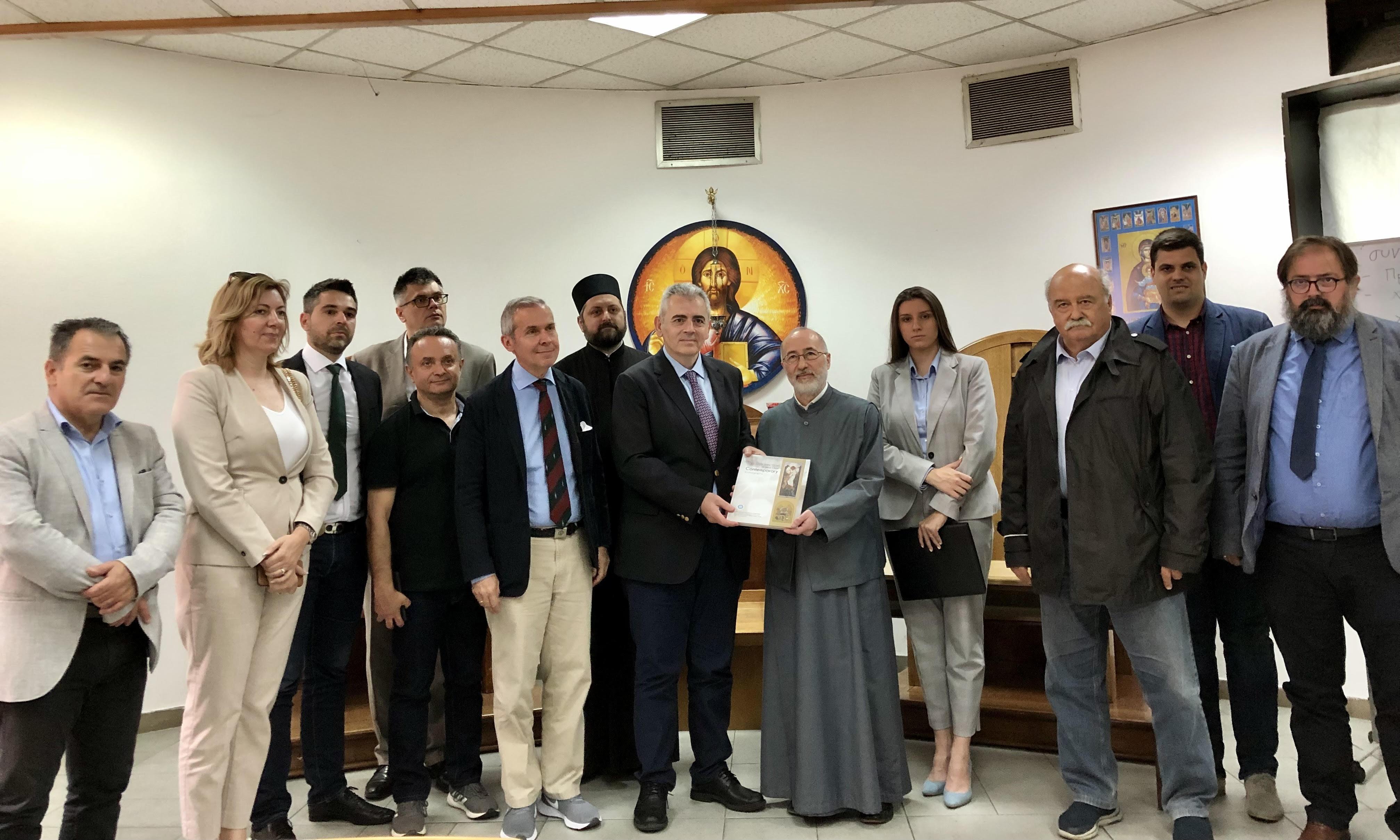 Επίσκεψη στην Θεολογική Σχολή Βελιγραδίου