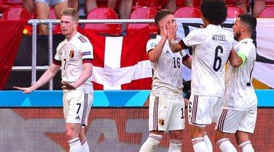 Δανία-Βέλγιο 1-2 - Με... υπογραφή του Ντε Μπρόιν - Δείτε γκολ και highlights