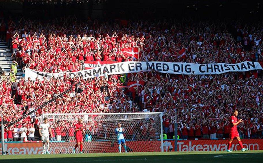 Euro 2020: Αποθέωση για Έρικσεν στο Δανία-Βέλγιο - ΒΙΝΤΕΟ
