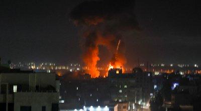 Μεσανατολικό: Νέα πλήγματα της Πολεμικής Αεροπορίας του Ισραήλ στη Λωρίδα της Γάζας - BINTEO