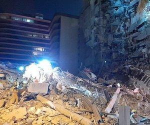 Σοκ στις ΗΠΑ: Κατέρρευσε κτίριο στο Μαϊάμι - Μεγάλη επιχείρηση των υπηρεσιών έκτακτης ανάγκης - Φόβοι για νεκρούς - BINTEO