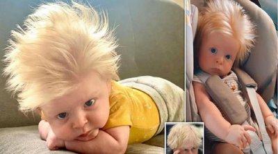 Το μωρό σωσίας του Μπόρις Τζόνσον που έγινε viral - BINTEO