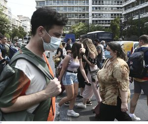 Σαρώνει η πανδημία σε Αττική, Θεσσαλονίκη, Κρήτη - Πώς κατανέμονται τα 2.845 νέα κρούσματα