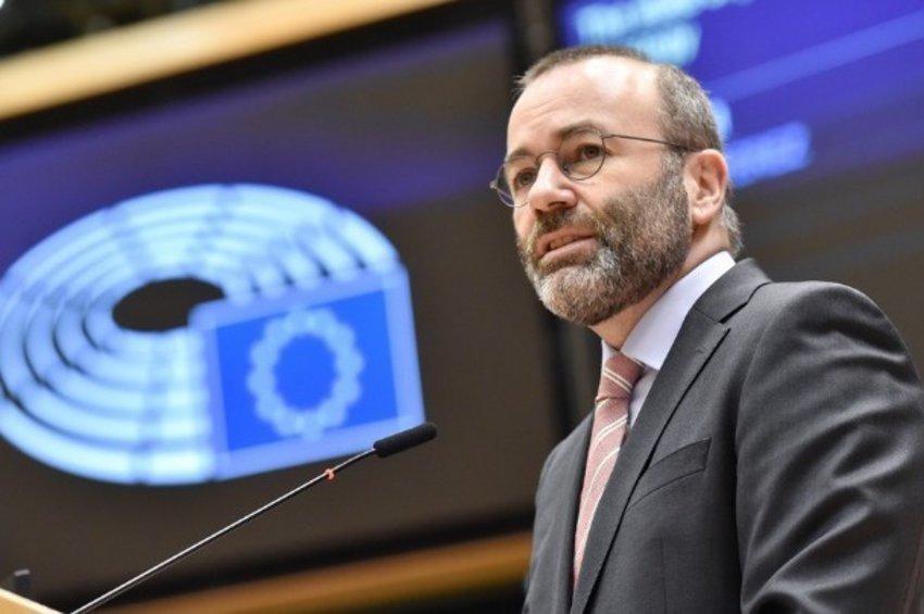 Βέμπερ: Στεκόμαστε με πλήρη αλληλεγγύη προς την Κύπρο - Απορρίπτουμε σθεναρά την τουρκική θέση μίας λύσης δύο κρατών