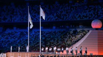 Τελετή Έναρξης: Η έπαρση της σημαίας και ο ύμνος των Ολυμπιακών Αγώνων - ΒΙΝΤΕΟ
