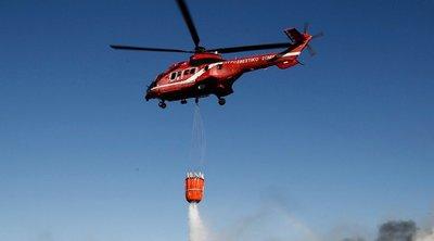 Πυρκαγιά στην Κορυφή Ηλείας - BINTEO