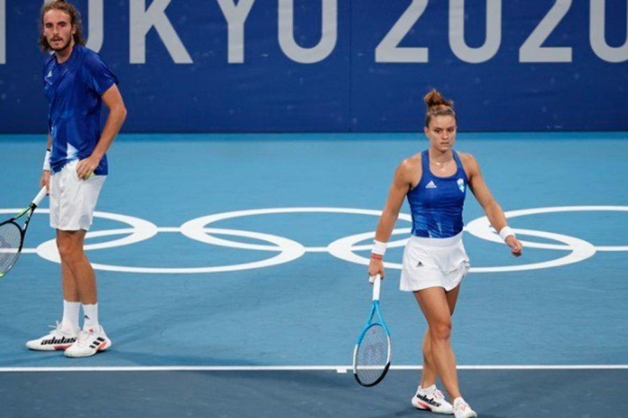 Ολυμπιακοί Αγώνες: Ήττα-αποκλεισμός για Σάκκαρη-Τσιτσιπά - ΒΙΝΤΕΟ