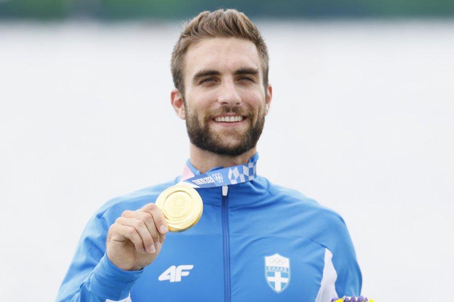Χρυσός ολυμπιονίκης με ρεκόρ ο Στέφανος Ντούσκος - «Για όλους στην Ελλάδα το μετάλλιο» - Η κούρσα και η απονομή