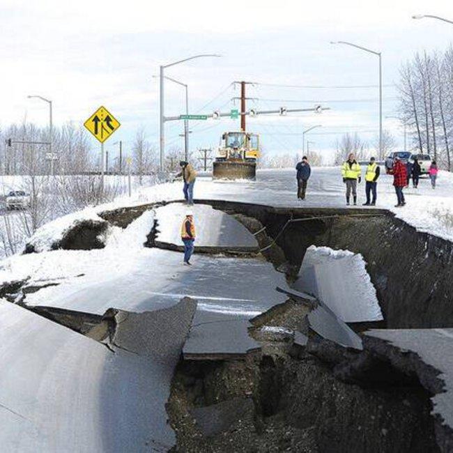 Νέα συγκλονιστικά βίντεο από τον τρομακτικό σεισμό των 8,2 ρίχτερ στην Αλάσκα - ΒΙΝΤΕΟ