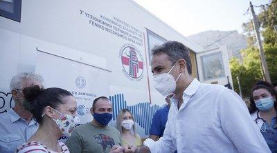 Μητσοτάκης από το Ηράκλειο: «Η χώρα δεν θα ξανακλείσει » - Νέα έκκληση για εμβολιασμό