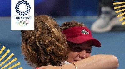 Τένις: «Χρυσοί» στο μεικτό διπλό οι Παβλιουτσένκοβα - Ρούμπλεφ