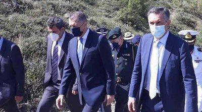 Στο χωριό Γράμμος ο υφυπουργός Άμυνας Αλκιβιάδης Στεφανής