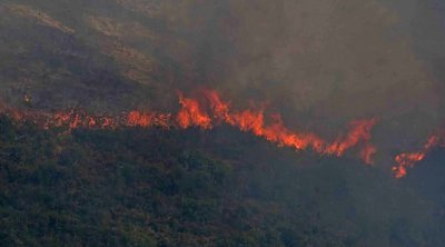 Σουφλί: Φωτιά στην Κοτρωνιά - Εκκενώθηκε το χωριό - Κινδύνεψε η εκκλησία