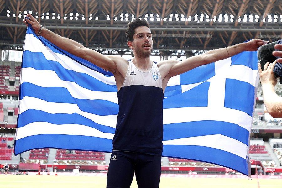 Ολυμπιακοί Αγώνες: Χρυσό μετάλλιο ο Μίλτος Τεντόγλου στο μήκος με άλμα στα 8,41μ - ΒΙΝΤΕΟ