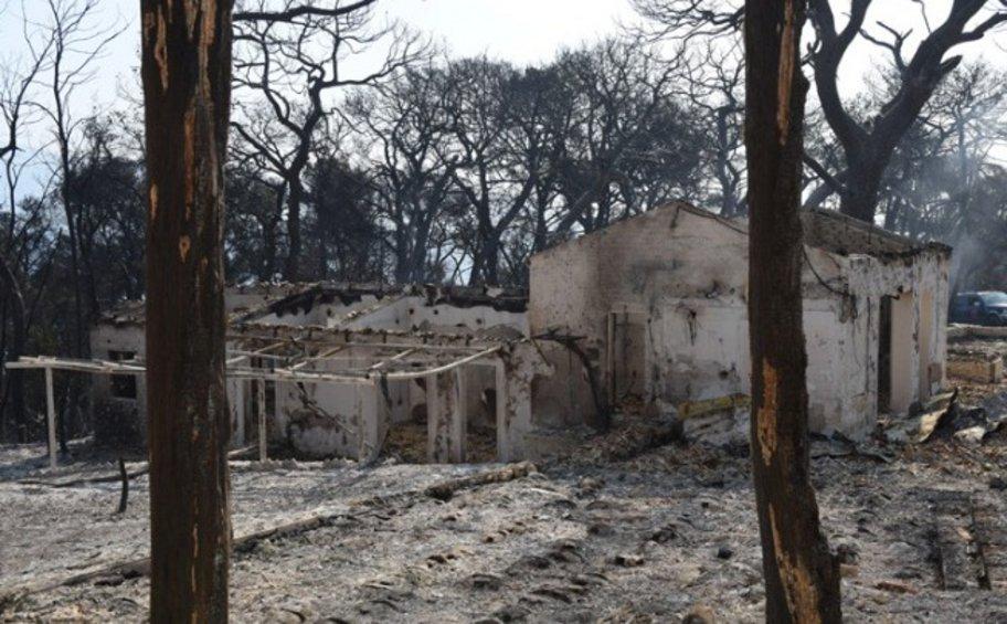 Meteo: Πάνω από 3.000 στρέμματα η πρώτη δορυφορική εκτίμηση των καμένων περιοχών στην Αχαΐα