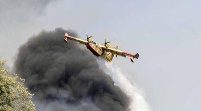 Κιλκίς: Συνεχίζεται η επιχείρηση κατάσβεσης φωτιάς σε πευκόφυτη δασική περιοχή