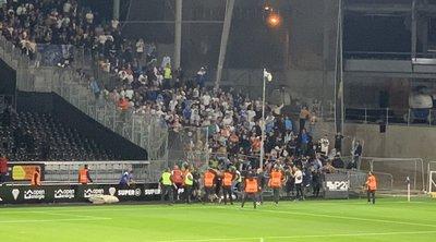 Γαλλία: Νέα σοβαρά επεισόδια σε αγώνα της Ligue 1 - ΒΙΝΤΕΟ