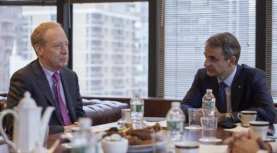 Νέα Υόρκη: Συνάντηση Μητσοτάκη με τον πρόεδρο της Microsoft