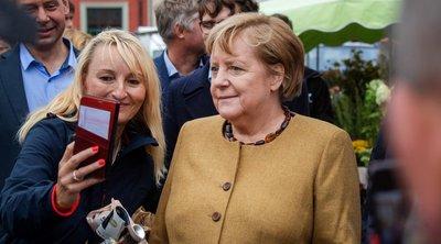 Γερμανία-Εκλογές: Ξαφνική αποχαιρετιστήρια επίσκεψη της Μέρκελ στην εκλογική της περιφέρεια για ένα «arrivederci»